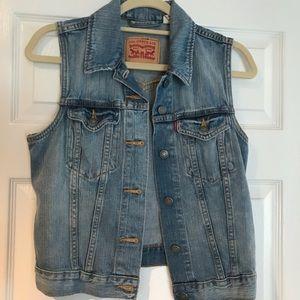 Jean Jacket Vest!